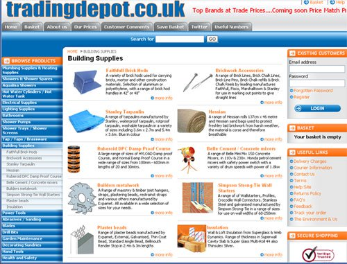 Trading Depot Building Supplies