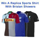 Buy A Bristan Shower & Back Your Team!
