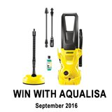 Win a Karcher Pressure Washer with Aqualisa