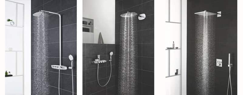 3D Showering – Grohe SmartControl Shower Systems – Push, Turn, Shower!