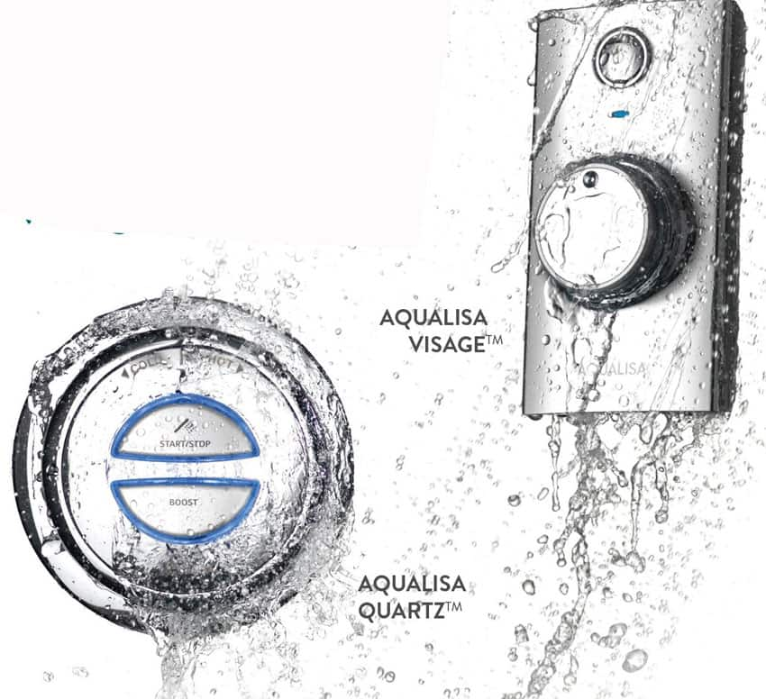 FREE Water-resistant Bluetooth stereo shower speaker from Aqualisa