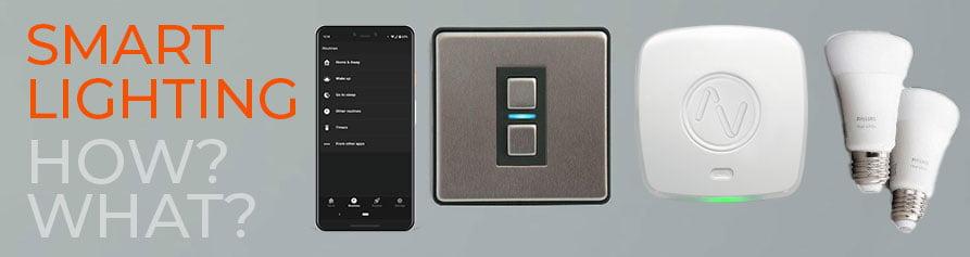 How do smart lights work?