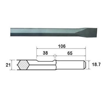 Steels - 21mm Hex Shank