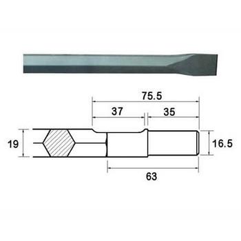Steels - 19mm Hex Shank