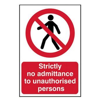Signs: No Smoking & Prohibition
