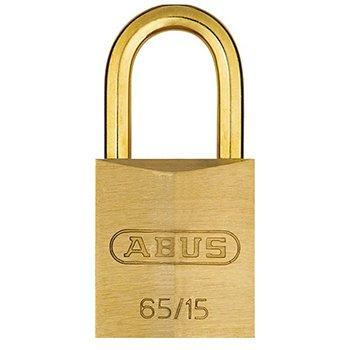 ABUS 65MB Series Brass Padlocks Brass Shackle