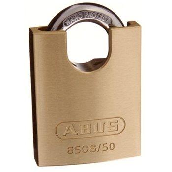 ABUS 65CS Series Brass Padlocks Closed Shackle