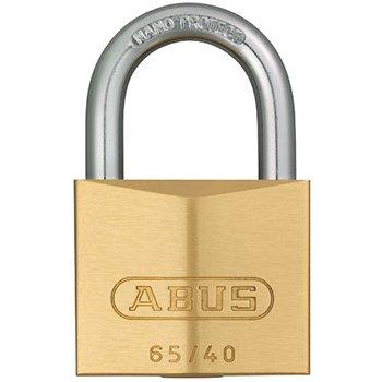 ABUS 65IB Series Brass Padlocks Stainless Steel Shackle
