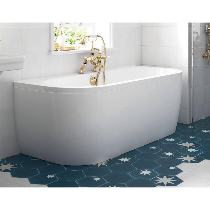 BC-SolidBlue Baths