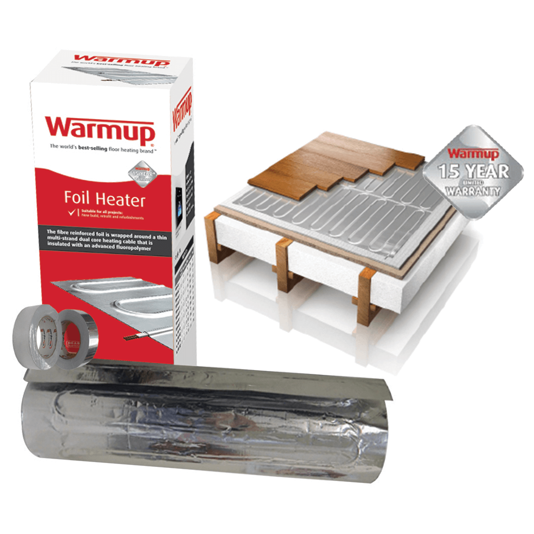 Warmup® Foil Heating Systems