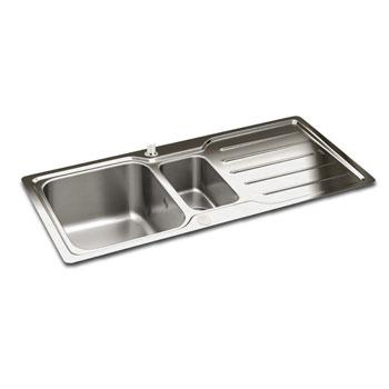 Carron Phoenix Adelphi Stainless Steel Kitchen Sinks