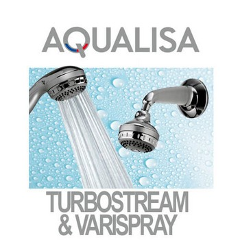 Aqualisa Varispray and Turbostream Shower Heads