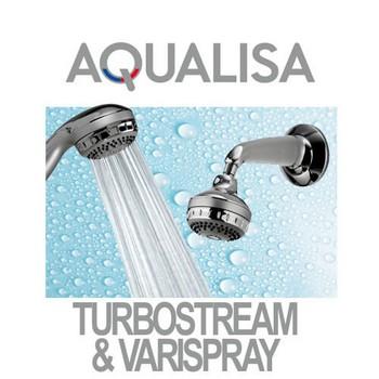 Aqualisa Varispray and Turbostream Shower Heads