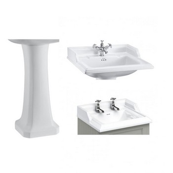 Burlington Classic Basins & Pedestals