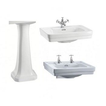 Burlington Contemporary Basins & Pedestals