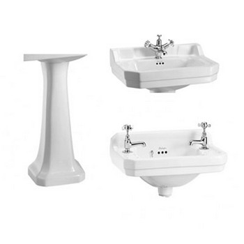 Burlington Edwardian Basins & Pedestals