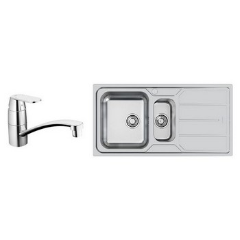 Foster Elettra Sinks & Grohe Tap Combo