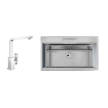 Foster FL One Sinks & Grohe Tap Combo