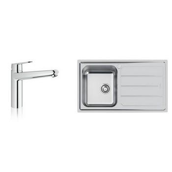 Foster Moon Sinks & Grohe Tap Combo
