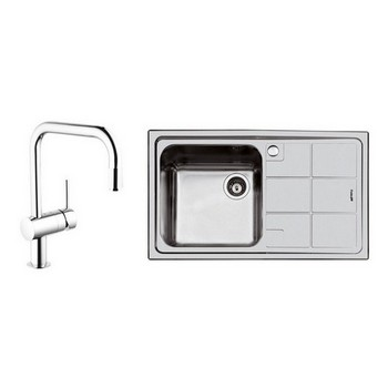 Foster S3000 Sinks & Grohe Tap Combo