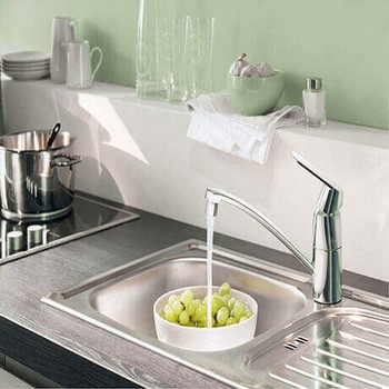 Grohe Kitchen Tap & Kitchen Sink Packs