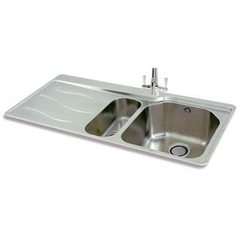 Carron Phoenix Maui Stainless Steel Kitchen Sinks