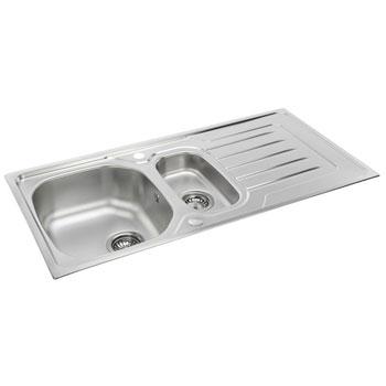 Carron Phoenix Onda Stainless Steel Kitchen Sinks