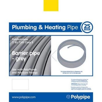Polypipe Underfloor Heating Coil Barrier Pipe