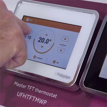 Underfloor Heating Room Temperature Controls