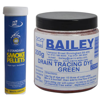 Smoke Testers & Tracing Dyes