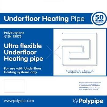 Polypipe Flexible Underfloor Heating Pipe