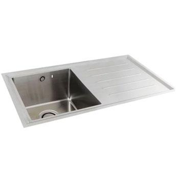 Carron Phoenix Vela Stainless Steel Kitchen Sinks
