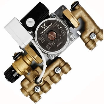 Underfloor Heating Water Temperature Controls