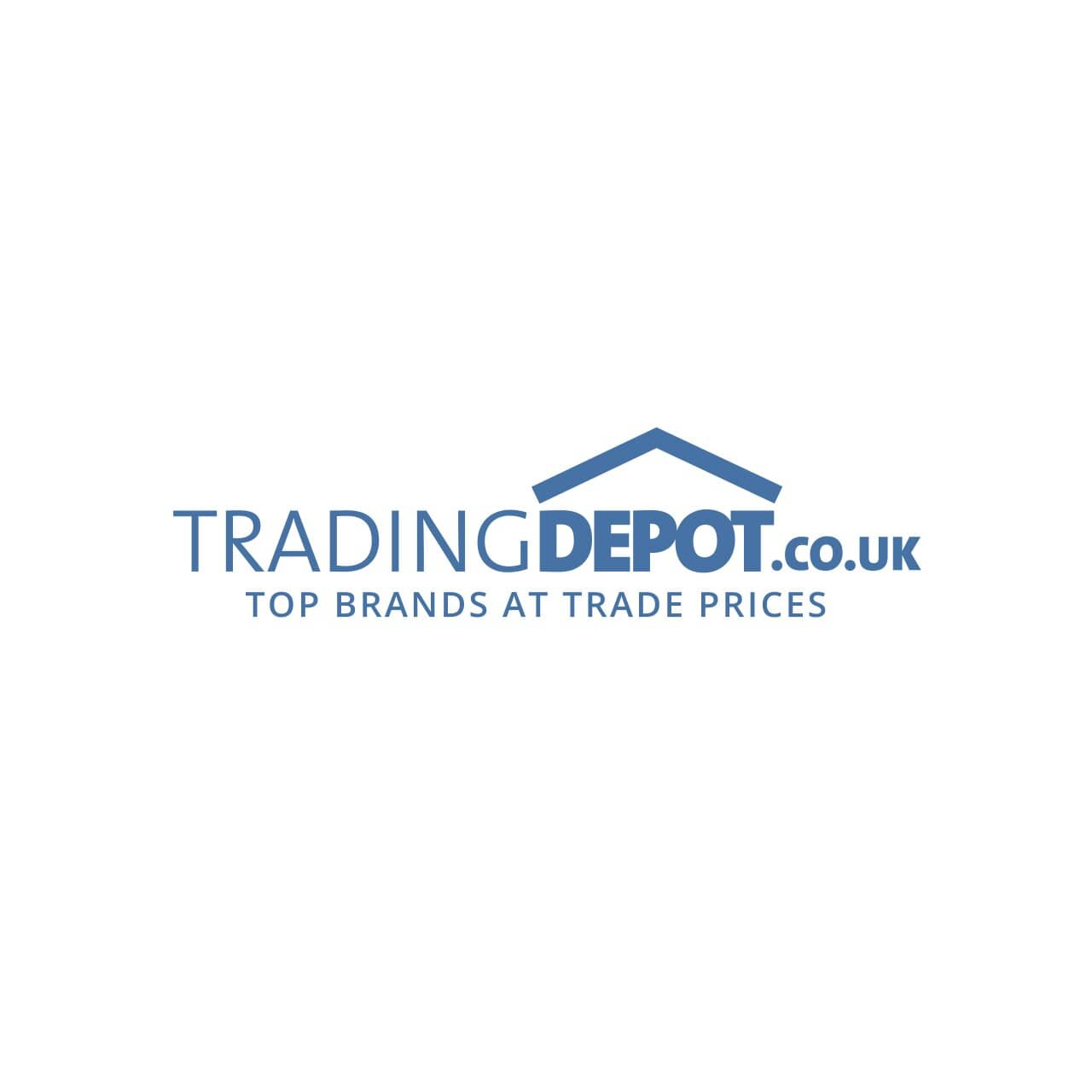 Deanta Eton White Primed Glazed Door 2040x726x40mm - Wood: White Primed - 40ETOGWHP726