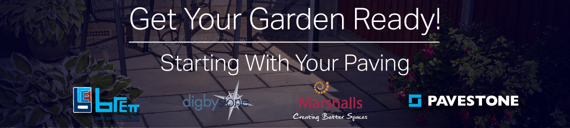 Get Your Garden Ready! Starting With Your Paving