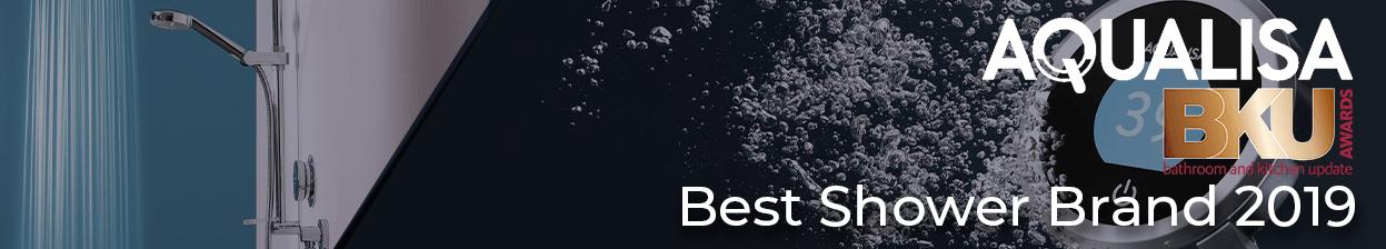 Aqualisa, Winner of Best Shower Brand 2019 BKU Awards 2019