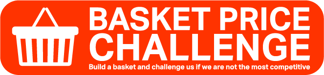 Basket Price Challenge, Build a basket and challenege us if we are not the most competitive