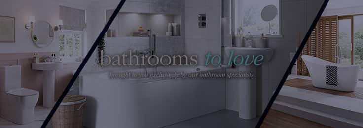 Bathrooms To Love Brand Banner