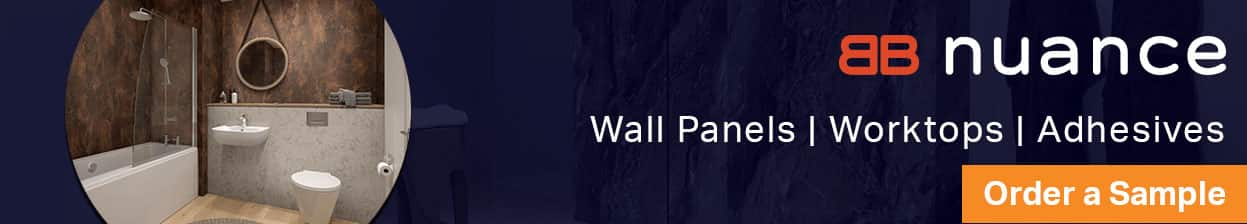 Nuance, Wall Panela, Worktops, Adhesives. Order a sample