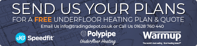 Send Us Your Plans to Get A Free Underfloor Heating Plan and Quote