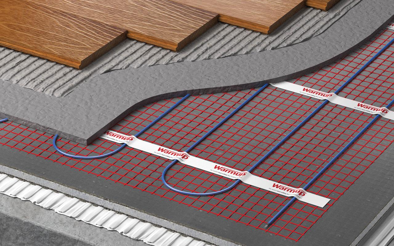 Underfloor Heating Cutaway